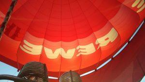 Ballonfahrt Dresden mit dem Rewe Ballon von Ballonfahrt Sachsen in der Ballonscheune Kesselsdorf Ronny Lorenz. Ballonfahrten in Dresden Pirna Meißen meissen Riesa Großenhain Dippoldiswalde Freital